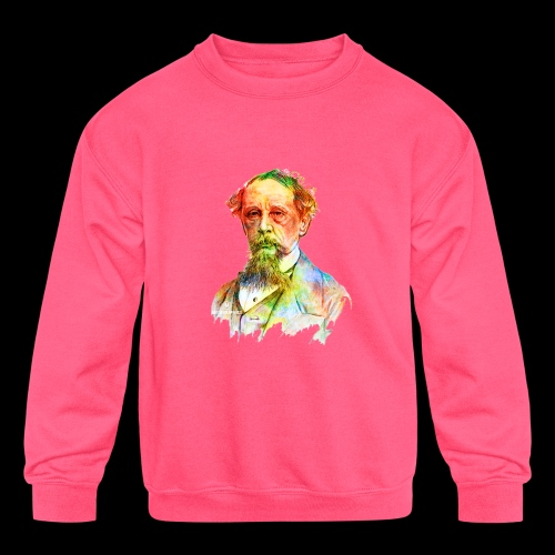 What the Dickens? | Classic Literature Lover - Kids' Crewneck Sweatshirt