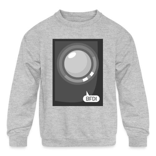 Announcer Tablet Case - Kids' Crewneck Sweatshirt
