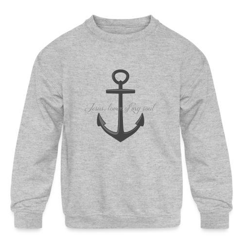Anchor of my soul - Kids' Crewneck Sweatshirt