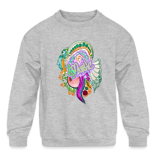 Music - Kids' Crewneck Sweatshirt