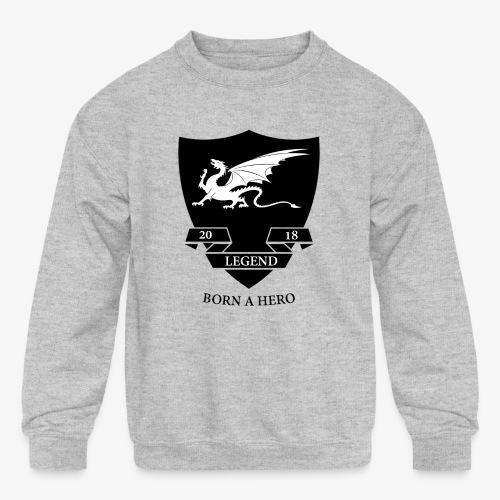 leged2018 - Kids' Crewneck Sweatshirt