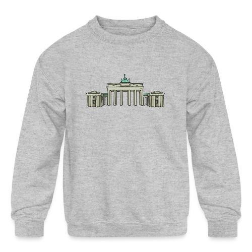 Brandenburg Gate Berlin - Kids' Crewneck Sweatshirt