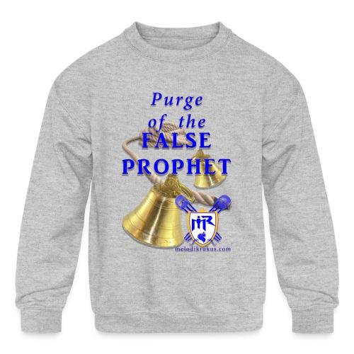 Purge T - Kids' Crewneck Sweatshirt