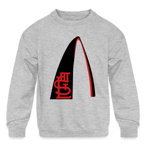 RTSTL_t-shirt (1) - Kids' Crewneck Sweatshirt