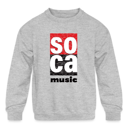 Soca music - Kids' Crewneck Sweatshirt