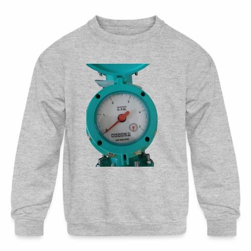 Meter - Kids' Crewneck Sweatshirt