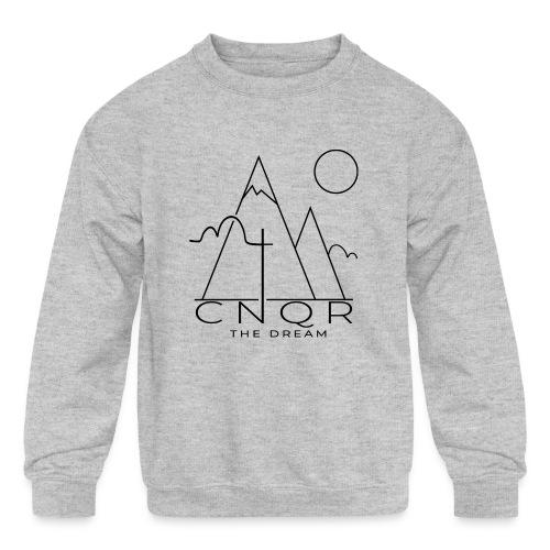 CNQR The Dream - Kids' Crewneck Sweatshirt
