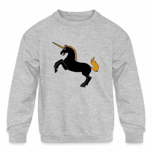 Unicorn - Kids' Crewneck Sweatshirt