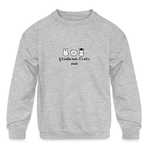 SMILE BACK - Kids' Crewneck Sweatshirt