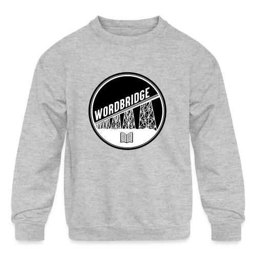 WordBridge Conference Logo - Kids' Crewneck Sweatshirt