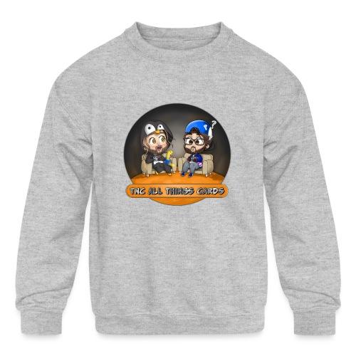 All Things Cards - Kids' Crewneck Sweatshirt
