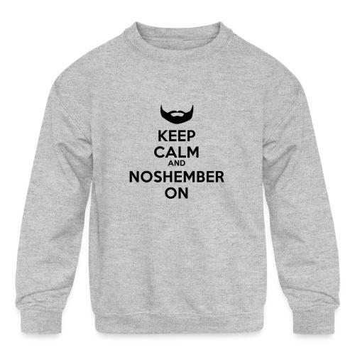 Noshember.com iPhone Case - Kids' Crewneck Sweatshirt