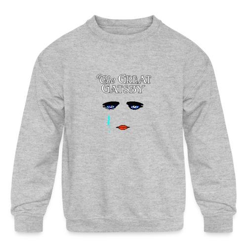 girlyteegraphic - Kids' Crewneck Sweatshirt