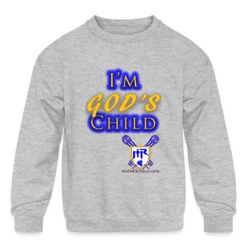 God s Child T - Kids' Crewneck Sweatshirt