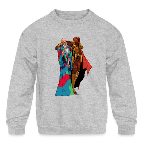 anjelicaPRO png - Kids' Crewneck Sweatshirt