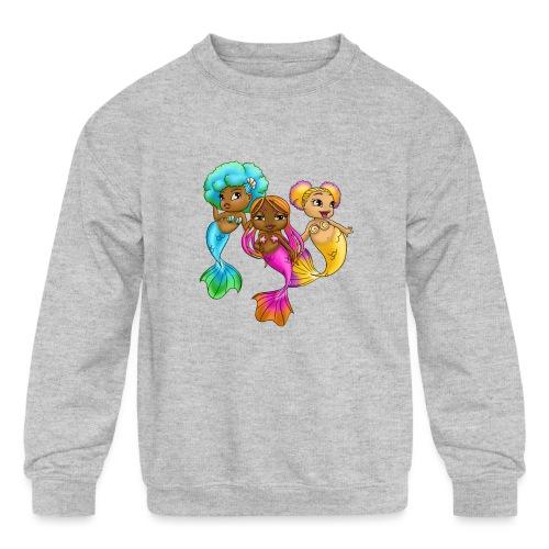 Bubble Squad - Kids' Crewneck Sweatshirt