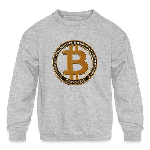 Bitcoin - Kids' Crewneck Sweatshirt