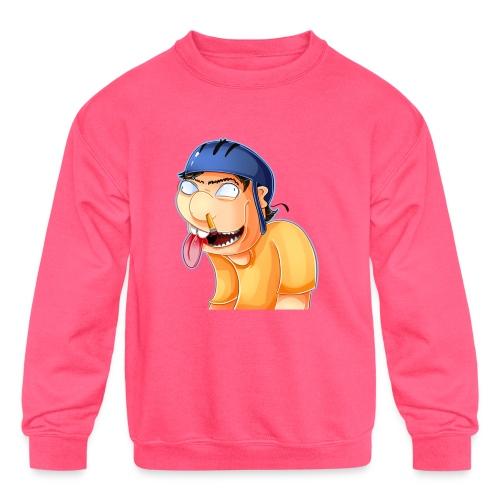 jeffy clipart - Kids' Crewneck Sweatshirt
