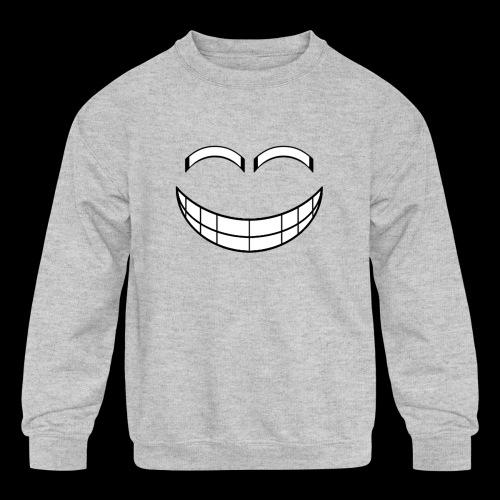 Empty Grin - Kids' Crewneck Sweatshirt