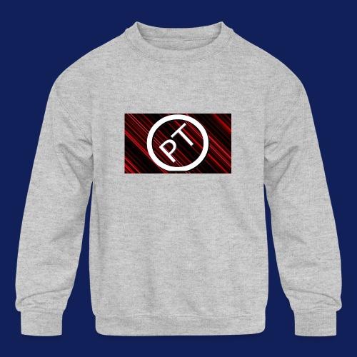 Pallavitube wear - Kids' Crewneck Sweatshirt