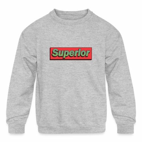 Superior - Kids' Crewneck Sweatshirt