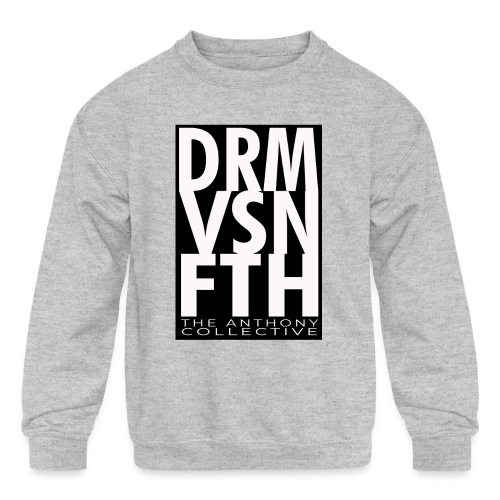 DRM VSN FTH - Kids' Crewneck Sweatshirt