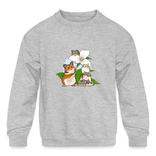Ontario Hamster Club - Kids' Crewneck Sweatshirt