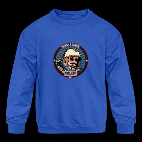 Spaceboy - Space Cadet Badge - Kids' Crewneck Sweatshirt