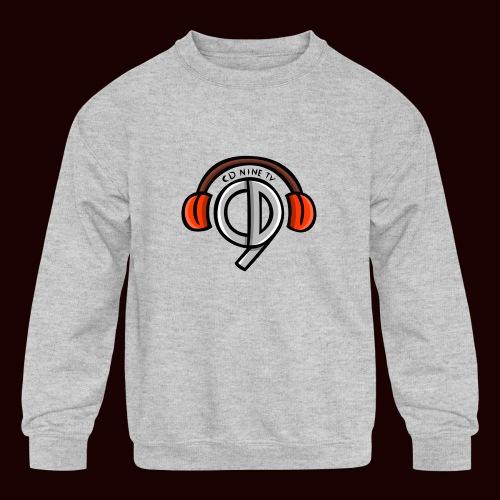CDNine-TV - Kids' Crewneck Sweatshirt