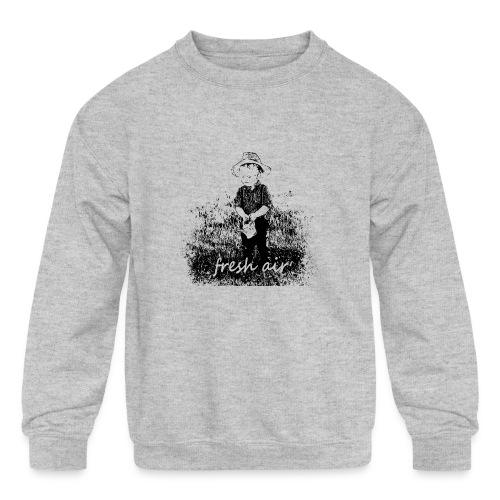 Fresh Air - Kids' Crewneck Sweatshirt