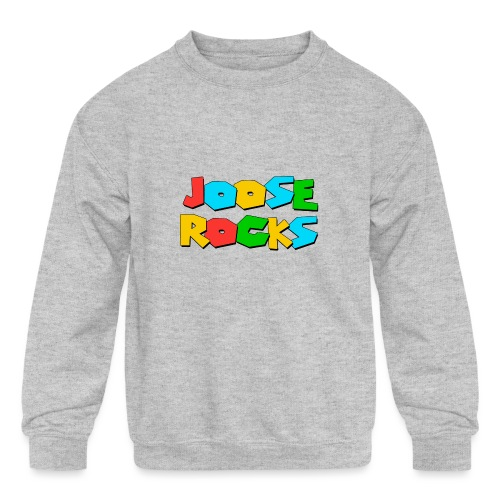 Super Joose Rocks - Kids' Crewneck Sweatshirt