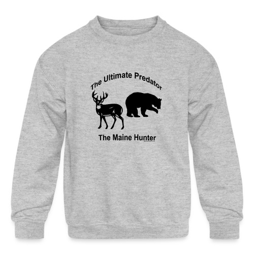 Ultimate Predator - Kids' Crewneck Sweatshirt