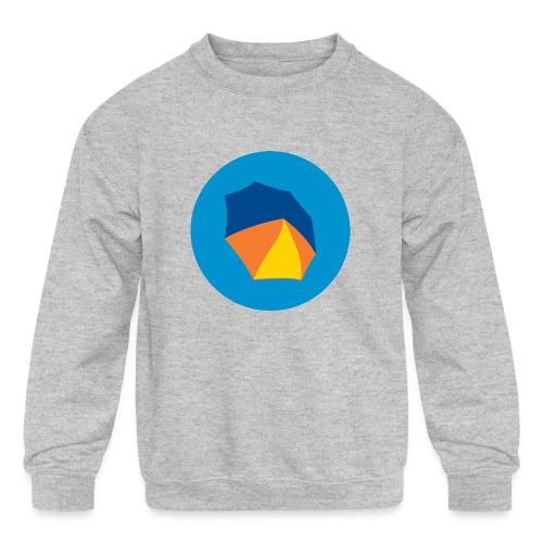 umbelas icon 2 - Kids' Crewneck Sweatshirt