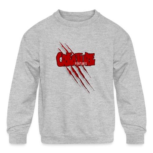 Creature Features Slash T - Kids' Crewneck Sweatshirt