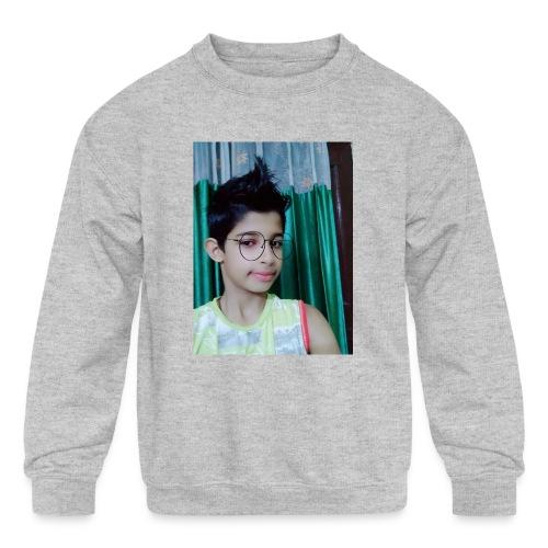 Parth kaushik pubg - Kids' Crewneck Sweatshirt