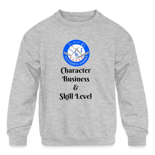 SB Seal Design - Kids' Crewneck Sweatshirt