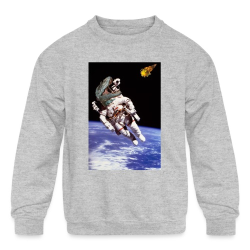 how dinos died - Kids' Crewneck Sweatshirt