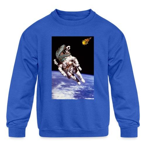 how dinos died - Kids' Crewneck Sweatshirt