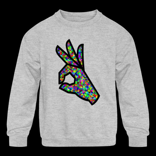 Nobody is Safe - Kids' Crewneck Sweatshirt