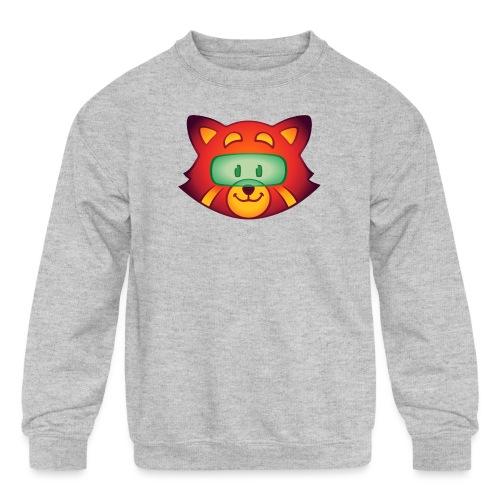 Foxr Head (no logo) - Kids' Crewneck Sweatshirt