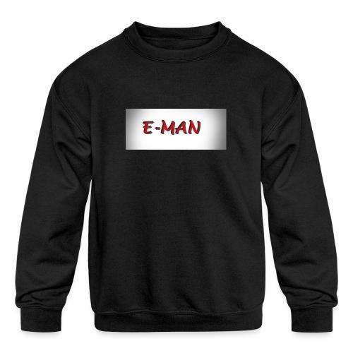 E-MAN - Kids' Crewneck Sweatshirt