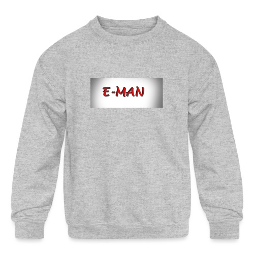 E-MAN - Kids' Crewneck Sweatshirt