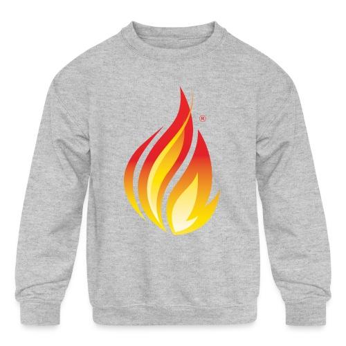 HL7 FHIR Flame Logo - Kids' Crewneck Sweatshirt