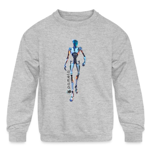 P.A.M.E.L.A. Seeker - Kids' Crewneck Sweatshirt