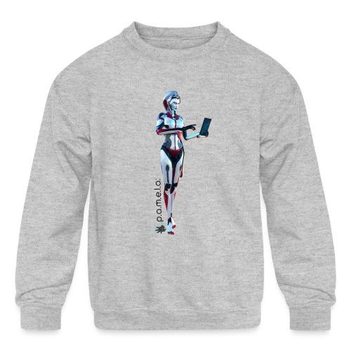 P.A.M.E.L.A. SecRT - Kids' Crewneck Sweatshirt