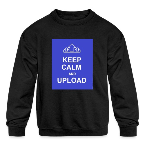 RockoWear Keep Calm - Kids' Crewneck Sweatshirt