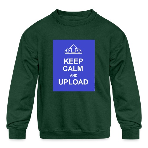 RockoWear Keep Calm - Kids' Crewneck Sweatshirt