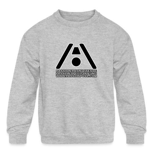 Passion / Skate / Speed - Passion / Speed / Skating - Kids' Crewneck Sweatshirt