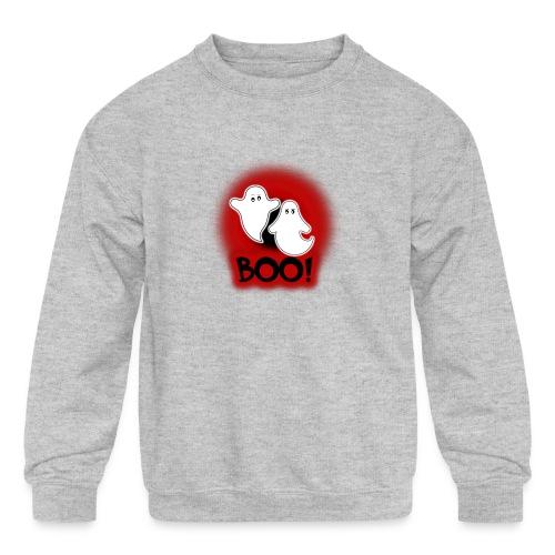Ghosties Boo Happy Halloween 4 - Kids' Crewneck Sweatshirt