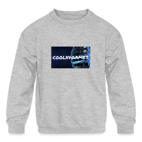 coolxvgames21 - Kids' Crewneck Sweatshirt